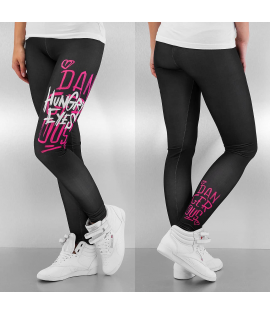 Legging Dangerous DNGRS Hungry Eyes Noir Rose