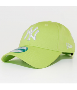 Casquette Incurvée New Era New York Yankees Vert Lime 940