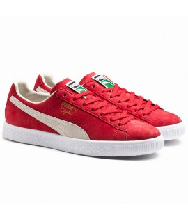 Chaussures Puma Clyde Barbados Cherry Suede
