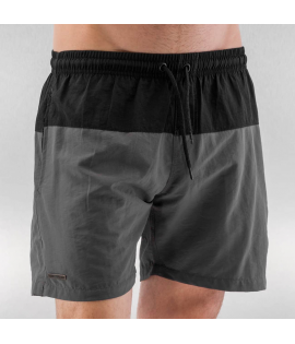 Short de Bain Just Rhyse Swim Short Noir Gris