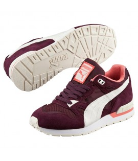 Baskets Puma Duplex Classic Running Wine Bordeaux Rose