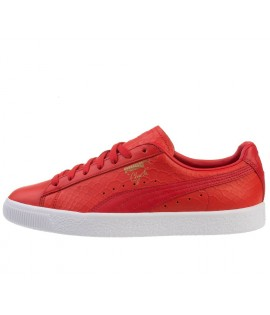 Chaussures Puma Clyde Dressed OG High Risk Rouge Suede
