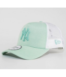 Casquette Trucker New Era NY Yankees Oxford Pastel Vert