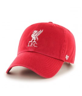 Casquette 47 Brand Liverpool Football Club Clean Up Rouge