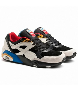 Baskets Puma Select R698 Flag Noir Blanc
