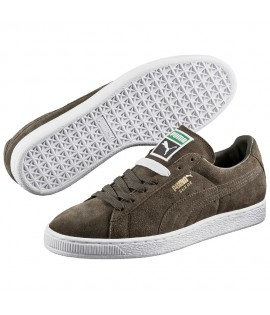 Chaussures Puma Suede Forest Night Vert Olive