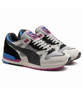 Baskets Puma Select Duplex OG Running Blanc Bleu Rose