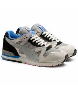 Baskets Puma Select Duplex OG Flag Running Gris Bleu