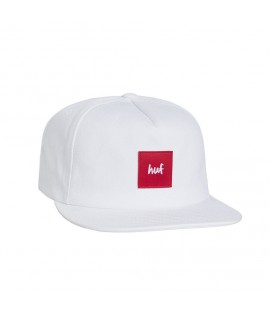Casquette HUF x CHOCOLATE snapback blanc rouge