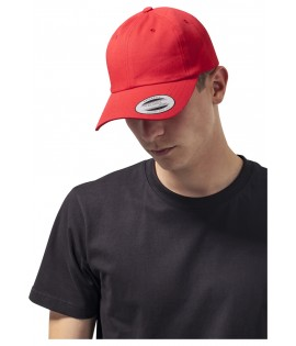 Casquette Incurvée Flexfit Low Profile Rouge
