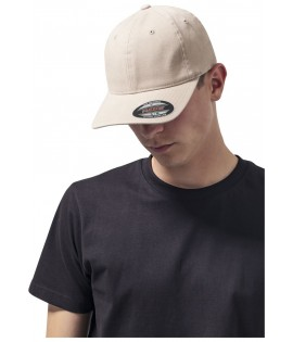 Casquette Incurvée Flexfit Kaki Dad Hat Garment Washed