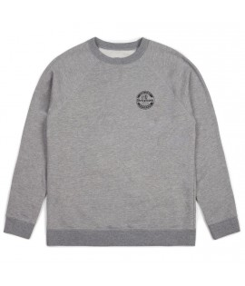 Sweat Brixton Soto Crewneck Indian Gris Chiné