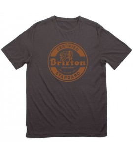 T-shirt Brixton Soto Tee Indian Noir