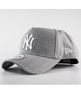 Casquette Trucker New Era New York Yankees Heather Gris