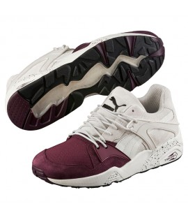 Baskets Puma Blaze Of Glory Tech Winetasting Gris Bordeaux