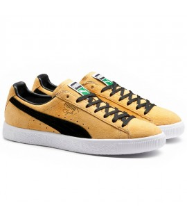 Chaussures Puma Clyde Select Bright Gold Suede