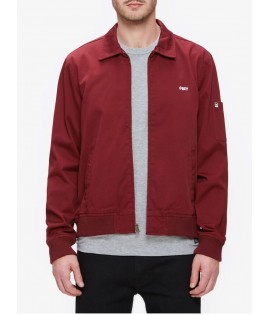 Veste Obey Eighty Slacker Jacket Rouge Bordeaux