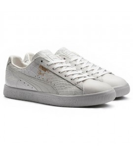 Chaussures Puma Clyde Dressed OG Select Blanc