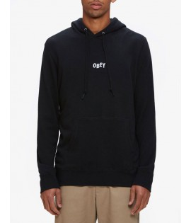 Sweat Capuche Obey Jumble Bars Noir Hoody