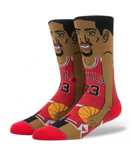 Chaussettes Stance Scottie Pippen Cartoon Chicago Bulls NBA Legends