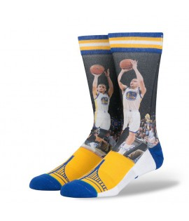 Chaussettes Stance Stephen Curry Golden States Warriors NBA Legends