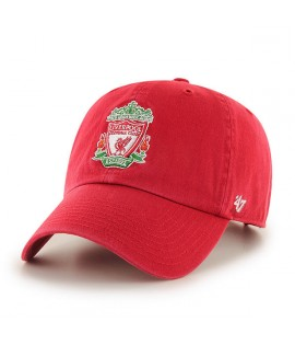 Casquette 47 Brand Liverpool Football Club Logo Clean Up Rouge