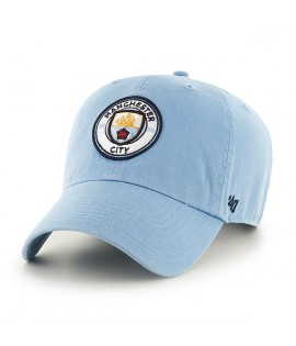 Casquette 47 Brand Manchester City Clean Up Bleu Ciel