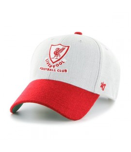 Casquette 47 Brand Liverpool Football Club Munson Gris Rouge