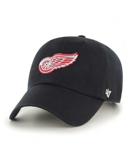 Casquette 47 Brand Detroit Red Wings Vintage Clean Up Noir