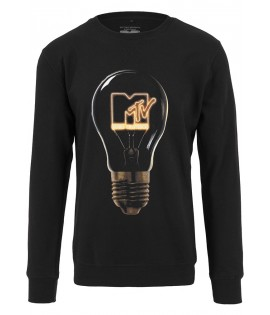 Sweat Mister Tee MTV High Energy Crewneck Noir