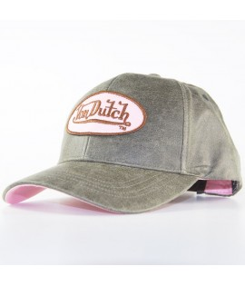 Casquette Trucker Von Dutch Vicky Brun Rose Baseball