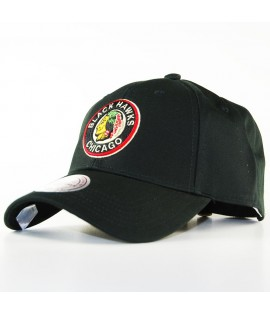 Casquette Courbée Mitchell & Ness Chicago Blackhawks NHL