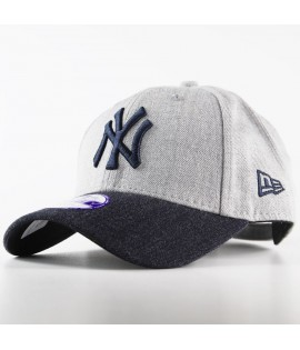 Casquette Enfant New Era 940 New York Yankees 9Forty Heather Team Gris