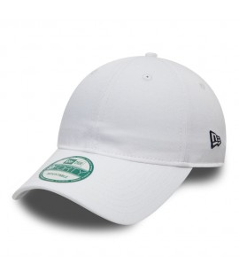 Casquette Incurvée New Era Unstructured 9Forty Blanc