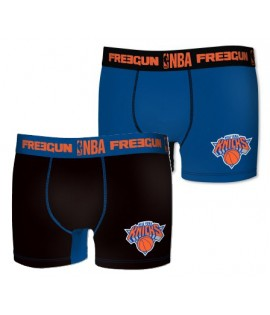 Lot de 2 Boxers NBA x Freegun New York Knicks Premium Series