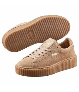 Chaussures Puma x Fenty Rihanna SuèdeCreepers Select Beige