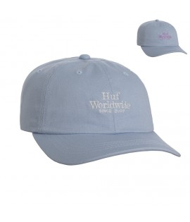 Casquette Incurvée Huf World Wide UV Curved Hat Blanche