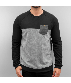 Sweat Just Rhyse Cona Pullover Noir Gris