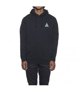 Sweat Capuche HUF Triple Triangle UV Hoody Noir