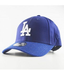 Casquette Enfant New Era 940 Los Angeles Dodgers Team Heather Visor 9Forty Bleu Youth