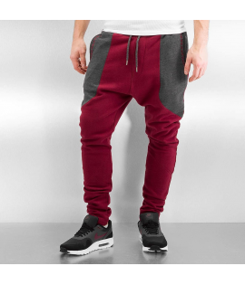 Bas de Jogging Just Rhyse Ted Rouge Gris Anthracite
