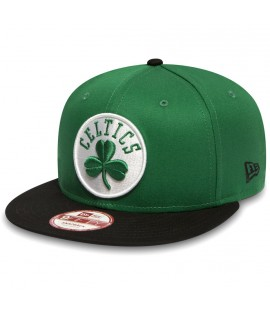 Casquette New Era Boston Celtics Snapback 950 Vert
