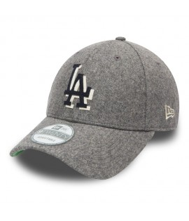 Casquette New Era 940 Los Angeles Dodgers Wool Felt Grise 9Forty