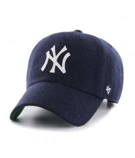 Casquette 47 Brand New York Yankees Droper' 47 Clean Up Navy Laine Melton