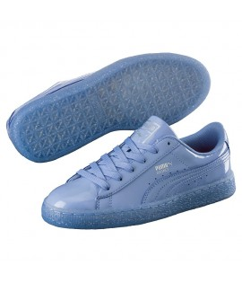 Chaussures Puma Basket Patent Iced Lavender
