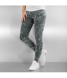 Legging Bangastic Acid Leggings Gris Blanc