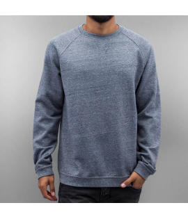Sweat Cyprime Basic Raglan Sweater Bleu