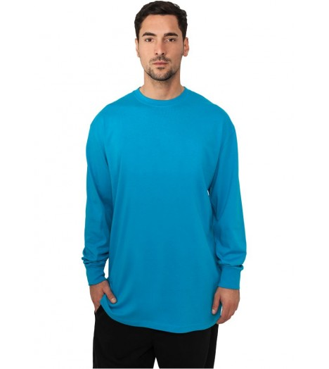 Tee-shirt manches longues URBAN CLASSICS extra long Turquoise