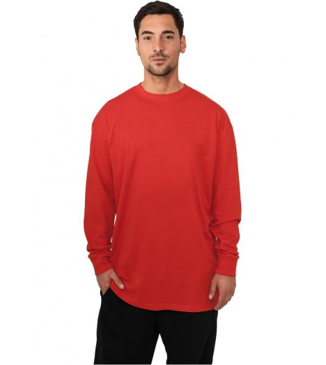 Tee-shirt manches longues URBAN CLASSICS extra long Rouge
