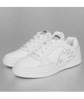 Baskets Dangerous DNGRS Logo Sneakers Blanc